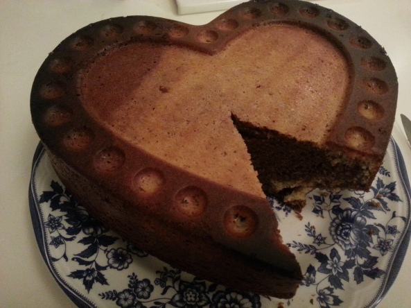 Homemade Marble Cake Recipe